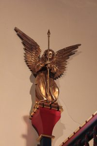The Angel at the Blessed Sacrament Tabernacle